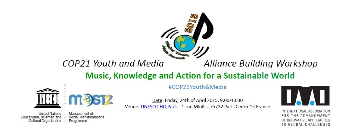 COP21 Youth and Media logo