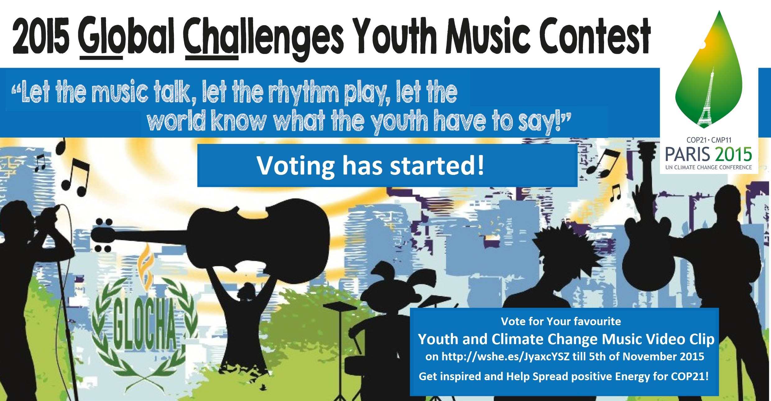 Call4Voting GYMC15 YouthandClimateChange COP21