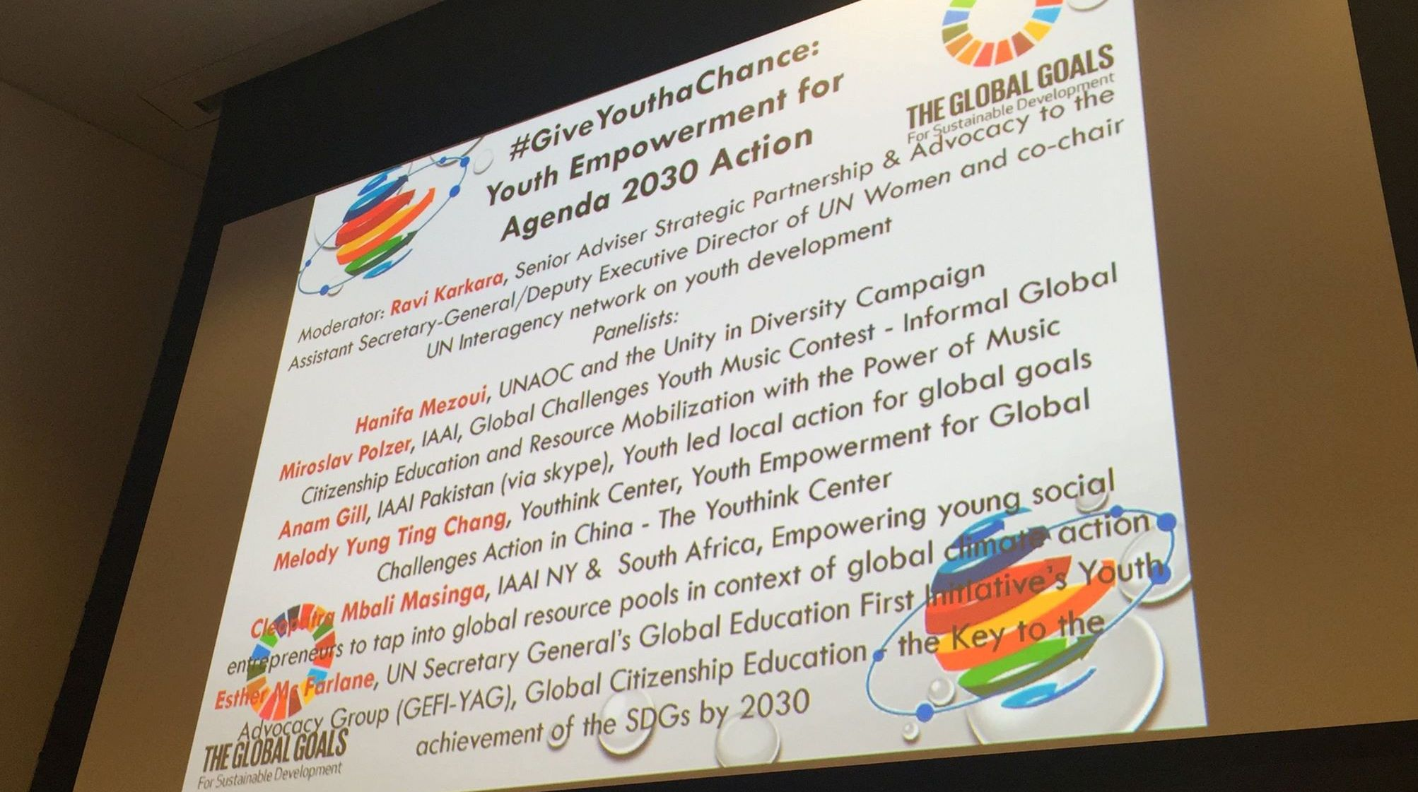 IAAI panel NGOsummitaug2016